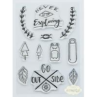 "Studio Forty Stemple ""Exploring"" - stamp set #5"